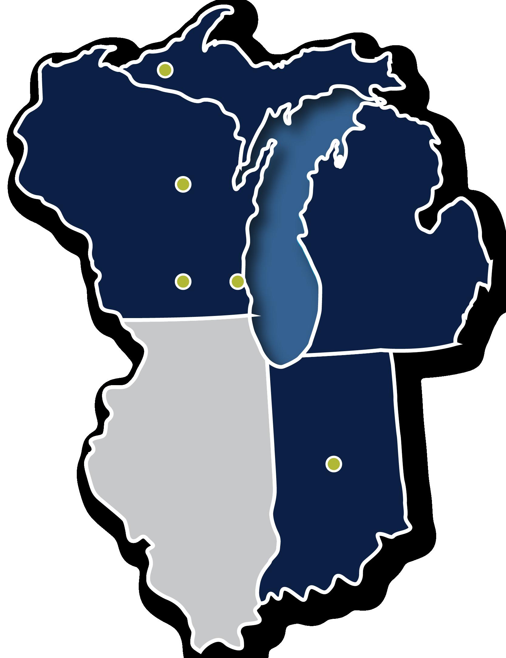 EMCS Location Map